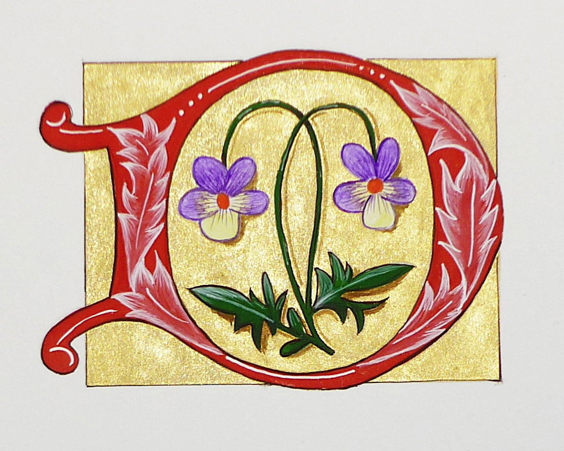 ILLUMINATED MANUSCRIPT SAMPLE 02